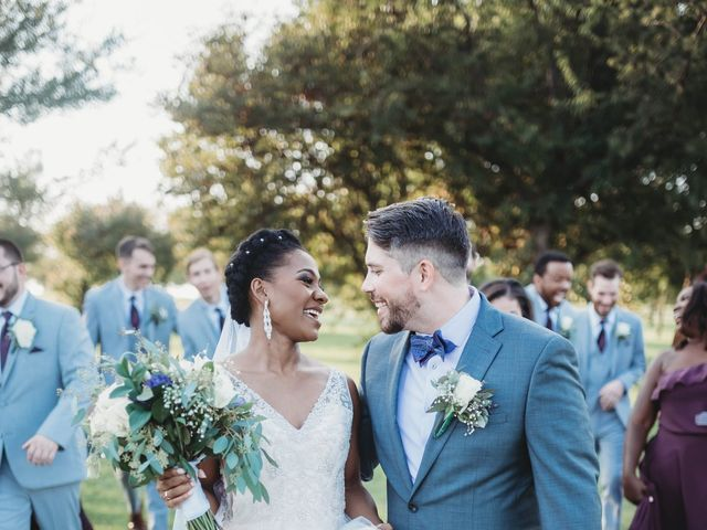 Bill Repavich and Rachel Runnels's Wedding in Washington, Oklahoma 13