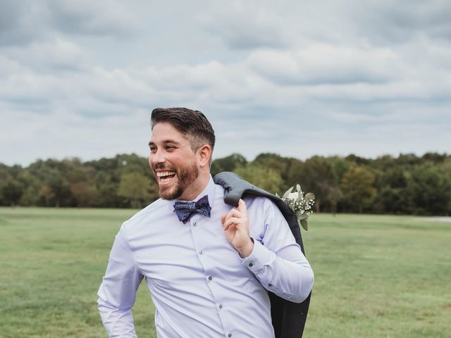 Bill Repavich and Rachel Runnels's Wedding in Washington, Oklahoma 39