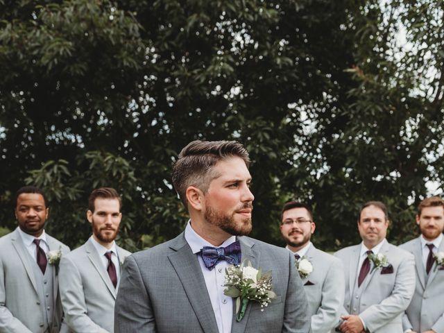 Bill Repavich and Rachel Runnels's Wedding in Washington, Oklahoma 42