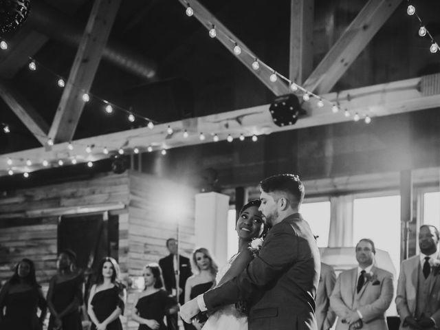 Bill Repavich and Rachel Runnels's Wedding in Washington, Oklahoma 47