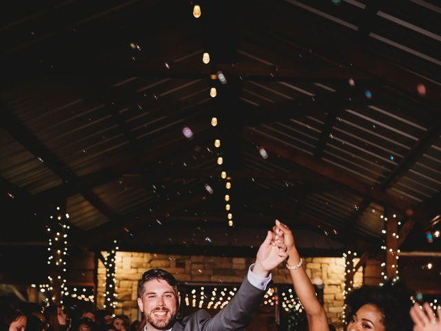 Bill Repavich and Rachel Runnels's Wedding in Washington, Oklahoma 52