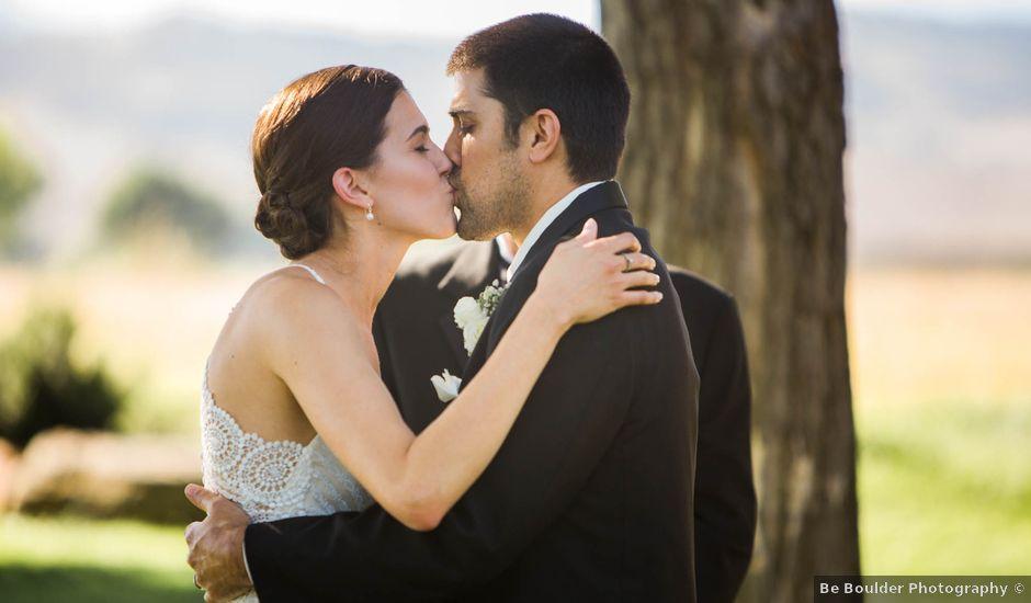 Chris and Kirsten's Wedding in Boulder, Colorado