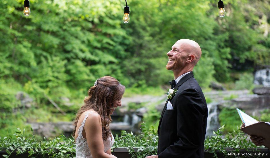 Aaron and Kara's Wedding in Mount Pocono, Pennsylvania