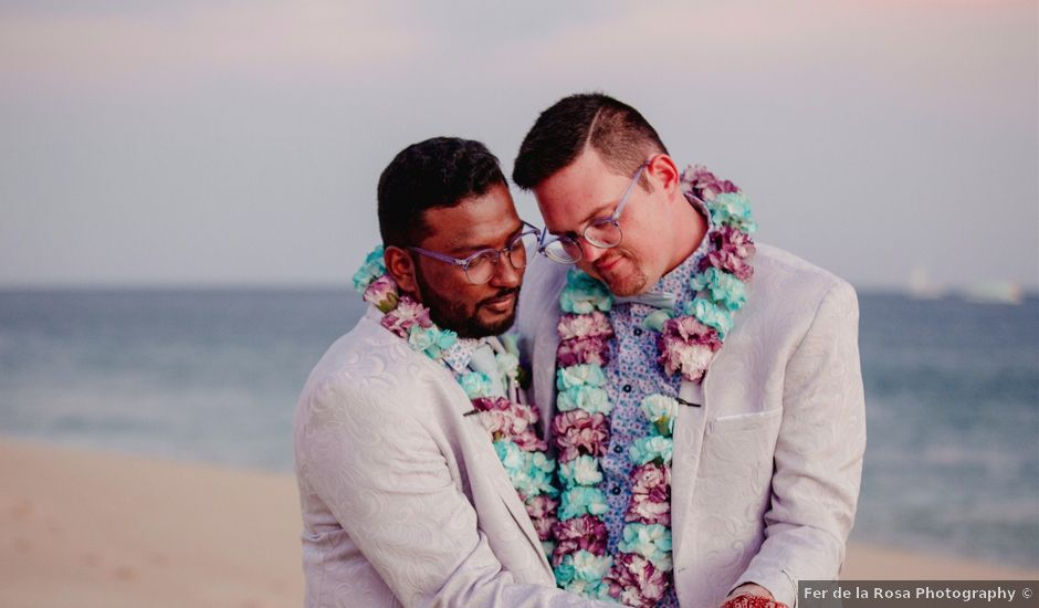 Ajmal and Cyle's Wedding in Cabo San Lucas, Mexico