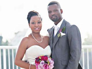 The wedding of Joshua and Malaika