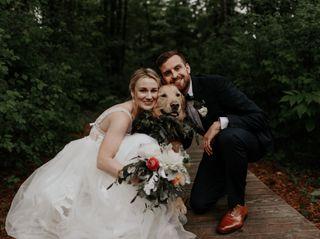 The wedding of Michelle and Garrett