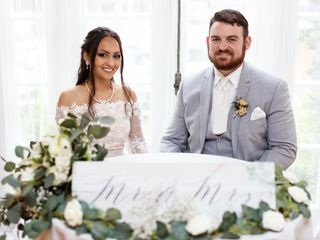 The wedding of Amy and David