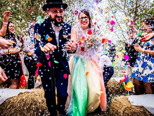 The wedding of Lorena and Saverio