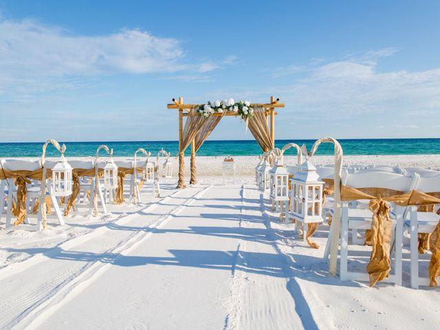 Monica and Nick's Wedding in Destin, Florida 37