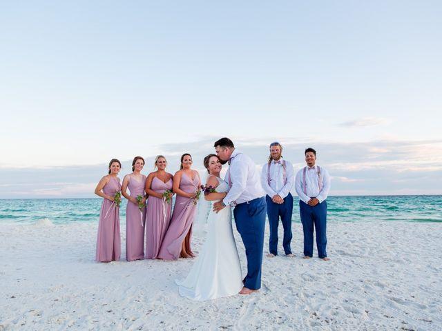 Monica and Nick's Wedding in Destin, Florida 64