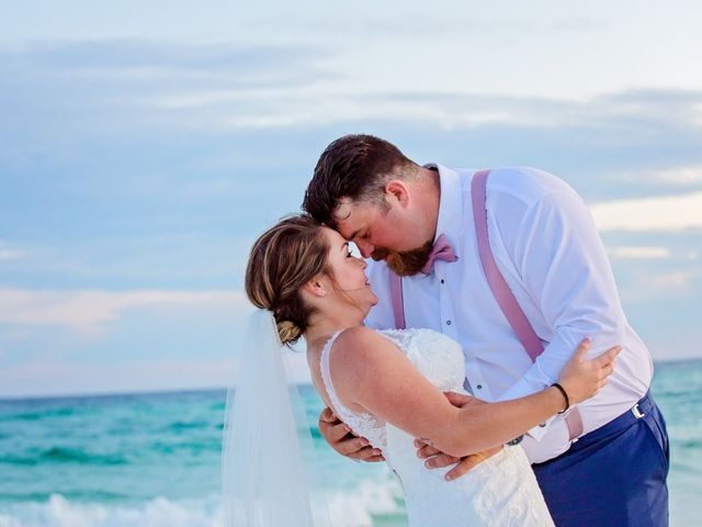 Monica and Nick's Wedding in Destin, Florida 80