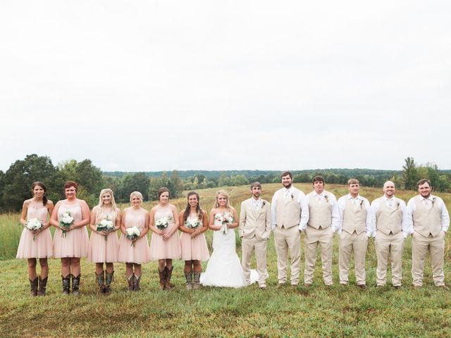 Kayla and Matthew's Wedding in Ramer, Tennessee 20