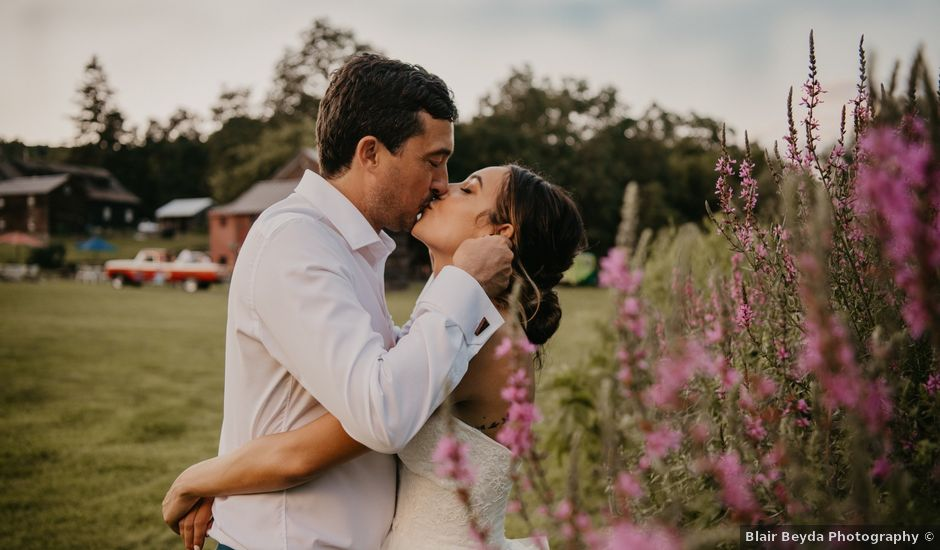 Maxime and Natalie's Wedding in Coxsackie, New York