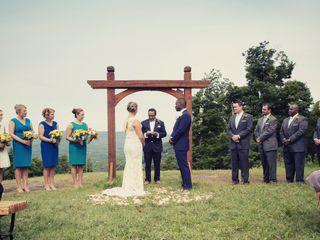 Sarah and Jerret's Wedding in Windham, New York 10