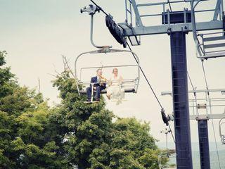 Sarah and Jerret's Wedding in Windham, New York 3