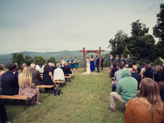 Sarah and Jerret's Wedding in Windham, New York 9