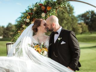 The wedding of Shalyn and Andrew