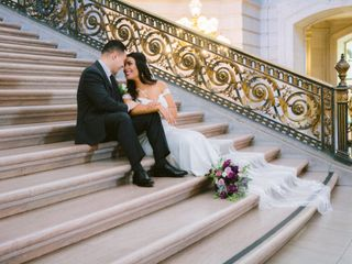 The wedding of Mario and Stephany