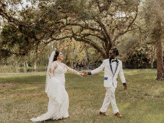The wedding of Vanessa and Deldron