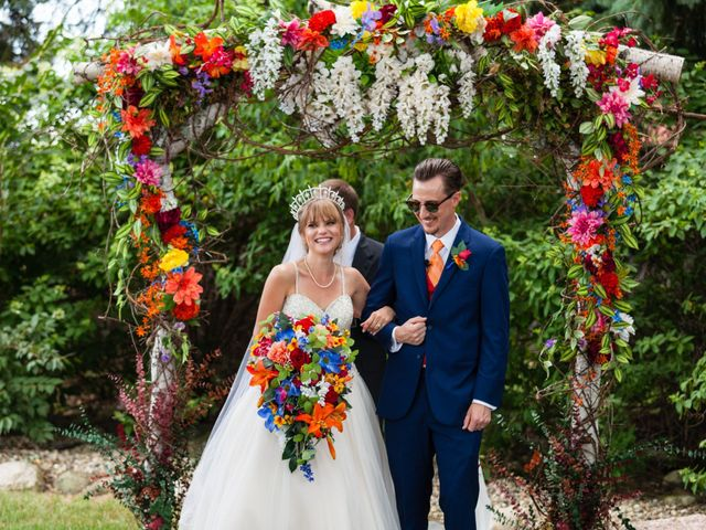 The wedding of Kayla and David