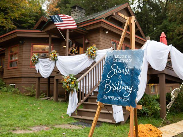 Stuart and Brittany's Wedding in Saranac Lake, New York 17