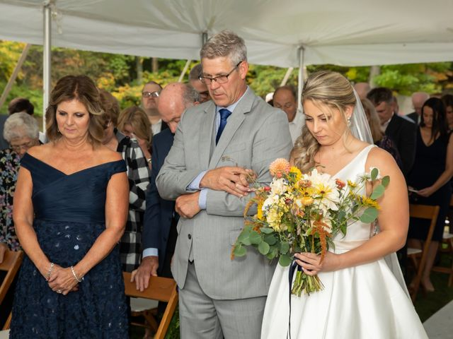 Stuart and Brittany's Wedding in Saranac Lake, New York 21