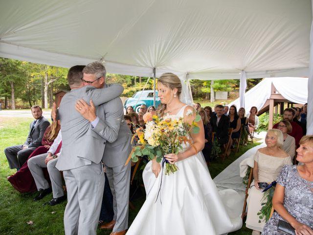 Stuart and Brittany's Wedding in Saranac Lake, New York 22