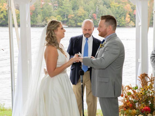 Stuart and Brittany's Wedding in Saranac Lake, New York 24