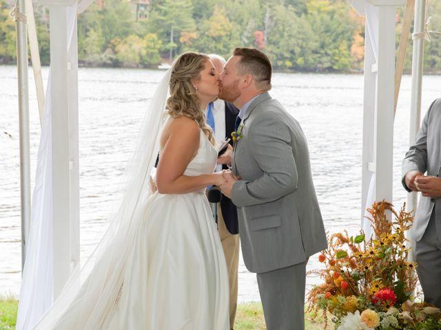 Stuart and Brittany's Wedding in Saranac Lake, New York 25