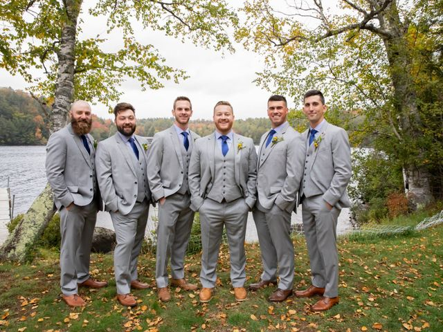 Stuart and Brittany's Wedding in Saranac Lake, New York 28