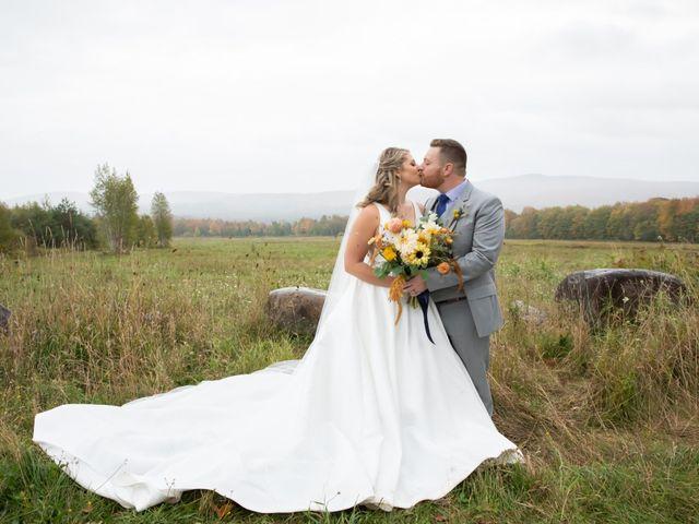 Stuart and Brittany's Wedding in Saranac Lake, New York 30