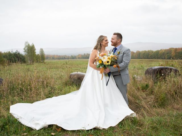 Stuart and Brittany's Wedding in Saranac Lake, New York 31