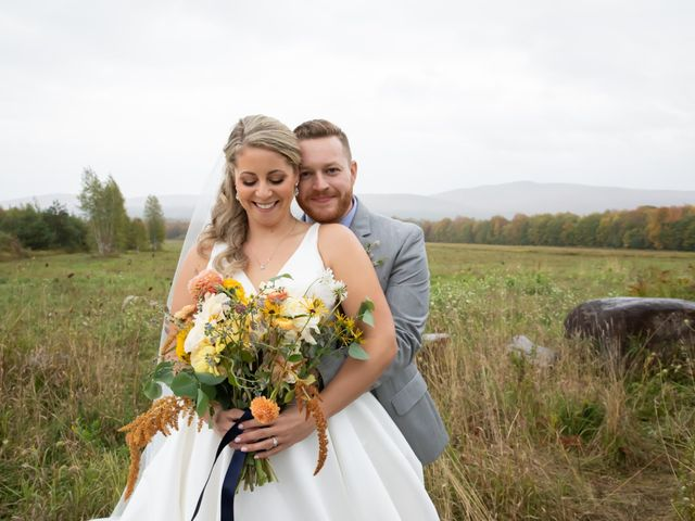 Stuart and Brittany's Wedding in Saranac Lake, New York 32