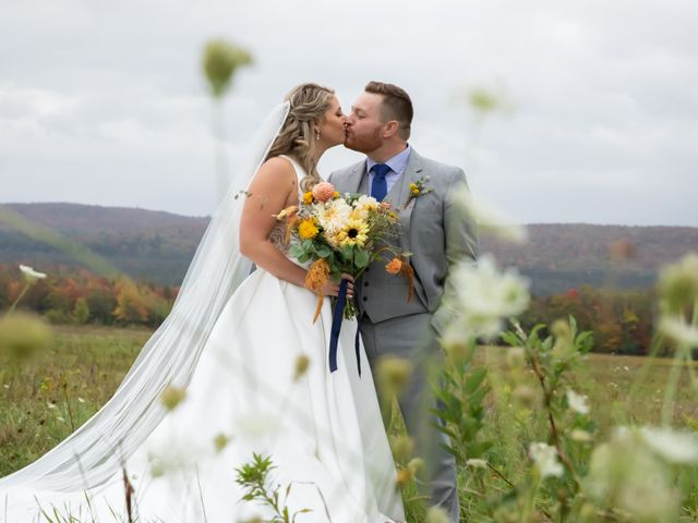 Stuart and Brittany's Wedding in Saranac Lake, New York 33