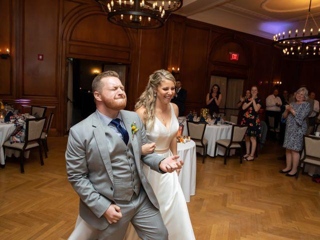 Stuart and Brittany's Wedding in Saranac Lake, New York 36