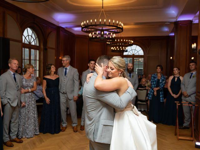 Stuart and Brittany's Wedding in Saranac Lake, New York 37