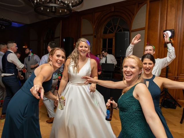 Stuart and Brittany's Wedding in Saranac Lake, New York 42