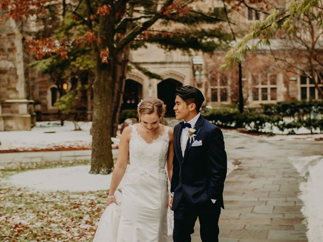 The wedding of Lauryn and Jhonny