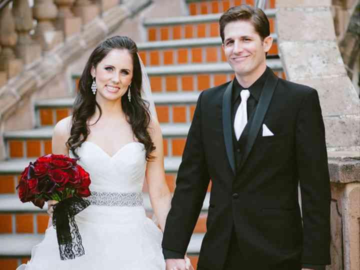 The wedding of Ryan and Kristena