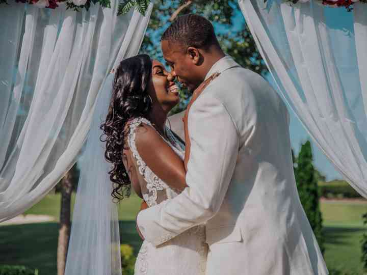 The wedding of Jasmine and Marvin