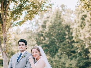 The wedding of Rebekah and Talon