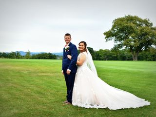 The wedding of Courtney and Tom 1
