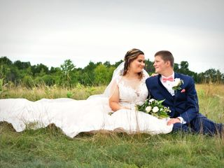 The wedding of Courtney and Tom