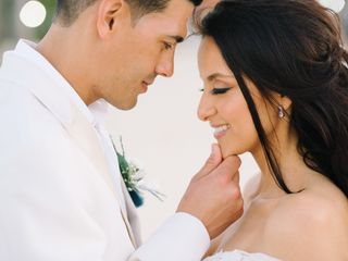 The wedding of Monica and Jaime