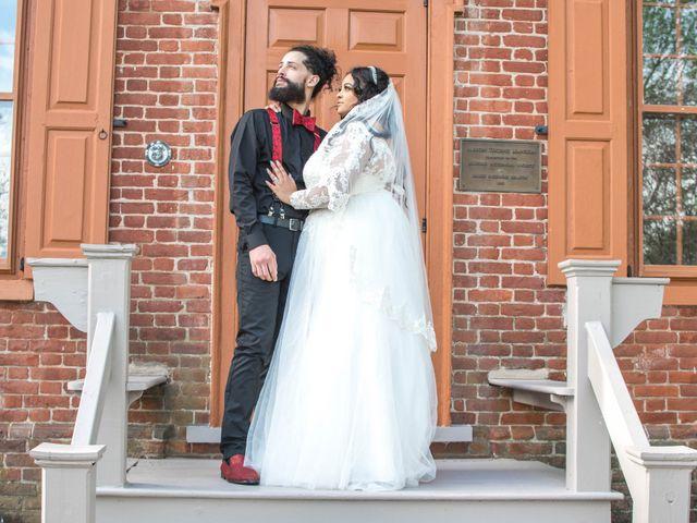 The wedding of John and Indigo