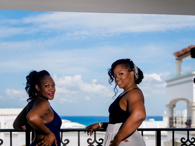 Willie and Tawanda's Wedding in Playa del Carmen, Mexico 37