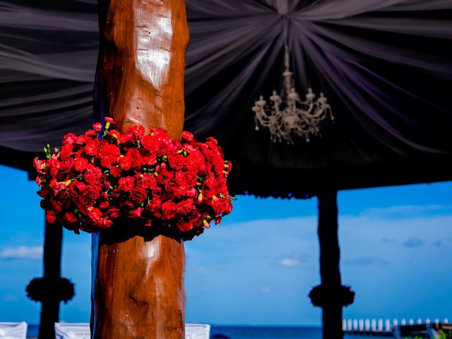 Willie and Tawanda's Wedding in Playa del Carmen, Mexico 105