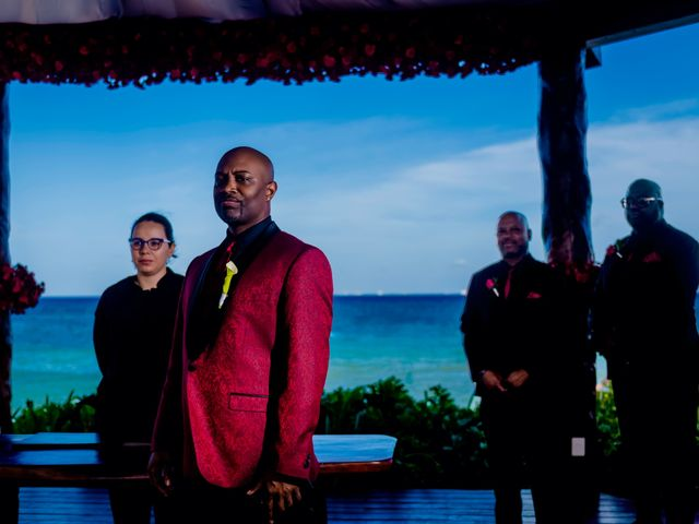 Willie and Tawanda's Wedding in Playa del Carmen, Mexico 108