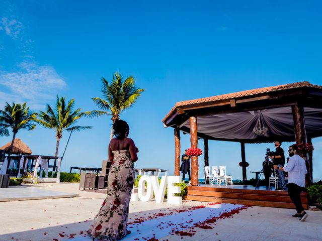 Willie and Tawanda's Wedding in Playa del Carmen, Mexico 115