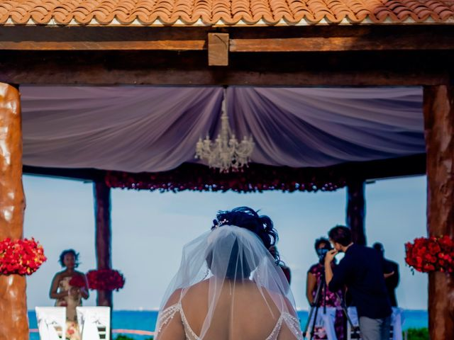 Willie and Tawanda's Wedding in Playa del Carmen, Mexico 118